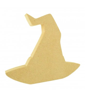 18mm Freestanding MDF Halloween Witches Hat Shape