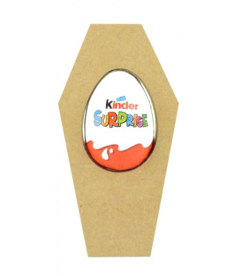 18mm Freestanding Halloween Kinder Egg Holder - Coffin