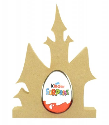 18mm Freestanding Halloween Kinder Egg Holder - Haunted House