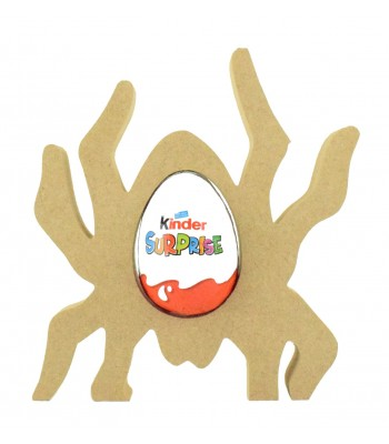 18mm Freestanding Halloween Kinder Egg Holder - Spider