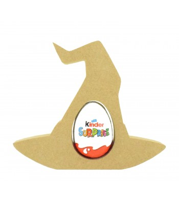 18mm Freestanding Halloween Kinder Egg Holder - Witches Hat