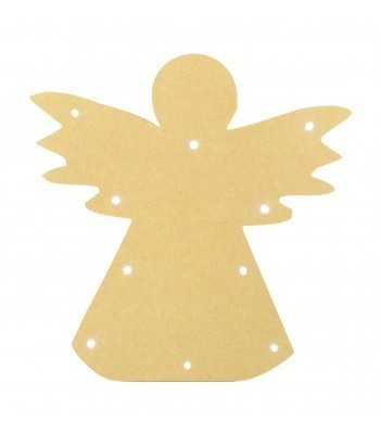18mm Freestanding MDF Budget Light - Angel Shape
