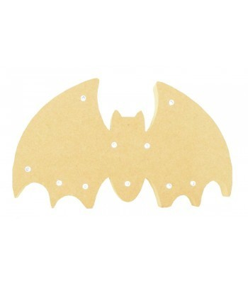 18mm Freestanding MDF Halloween Budget Light - Bat Shape