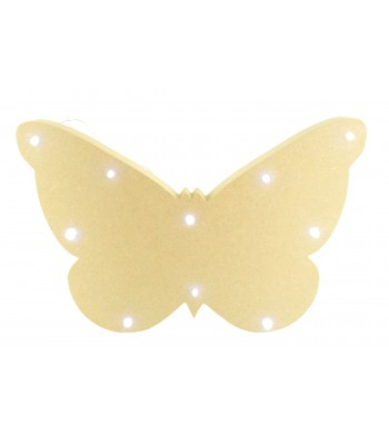 18mm Freestanding MDF Budget Butterfly Shape Light