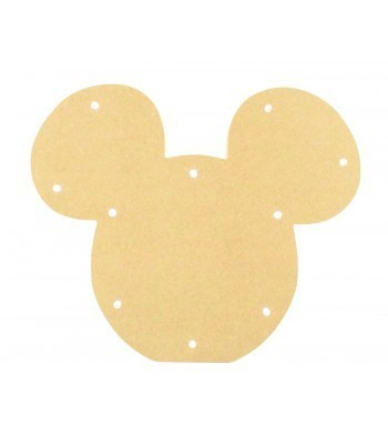 18mm Freestanding MDF Budget Light - Mouse Head Shape