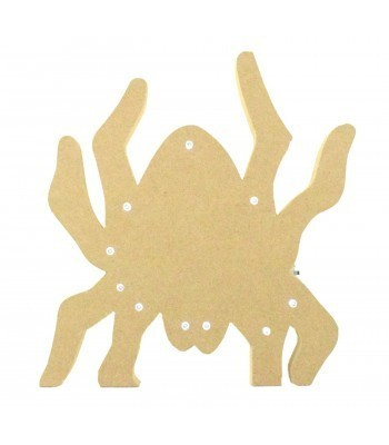 18mm Freestanding MDF Halloween Budget Light - Spider Shape
