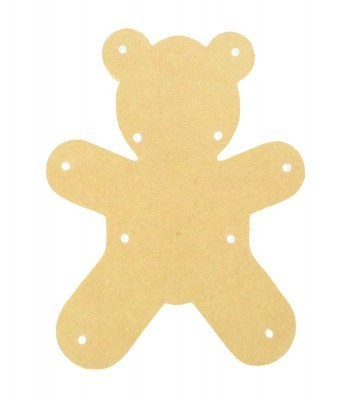 18mm Freestanding MDF Budget Light - Teddy Shape