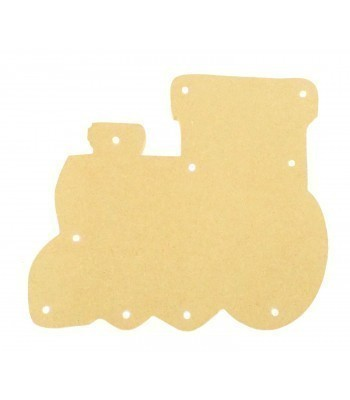 18mm Freestanding MDF Budget Light - Train Shape