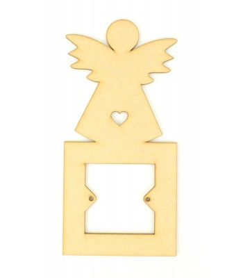 Laser Cut Angel Light Switch Surround