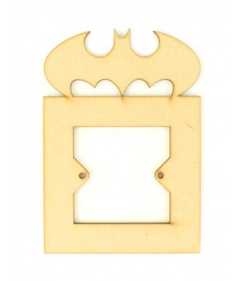 Laser Cut Batman Light Switch Surround