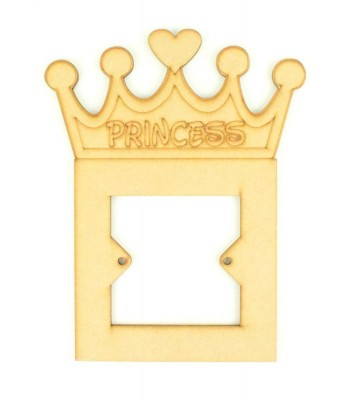 Laser Cut Princess Light Switch Surround