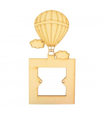 Laser Cut Hot Air Balloon Light Switch Surround
