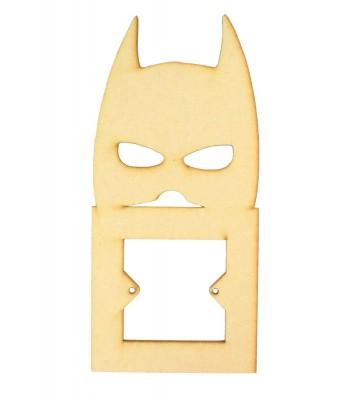 Laser Cut Superhero Mask Light Switch Surround