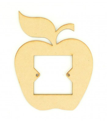 Laser Cut Apple Shape Light Switch Surround
