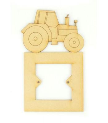 Laser Cut Tractor Light Switch Surround