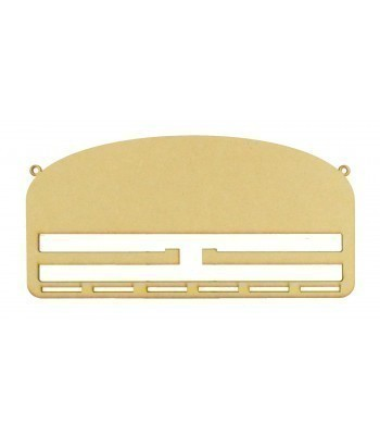 Laser Cut Plain Large Medals or Bows and Headband Holder - Hangers and Ribbon Slots