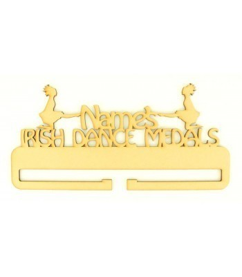 Laser Cut Personalised Large Irish Dance Medals Holder