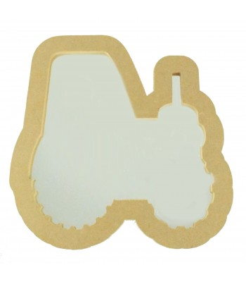 18mm Freestanding MDF Tractor Shape Mirror - Size Options