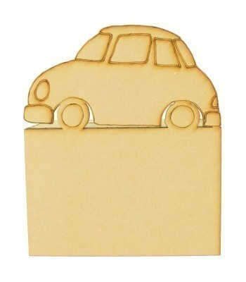 Laser Cut Car Money Box