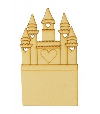 Laser Cut Princess Castle Money Box