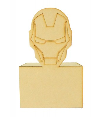 Laser Cut Ironman Money Box