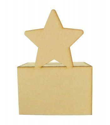 Laser Cut Star Money Box