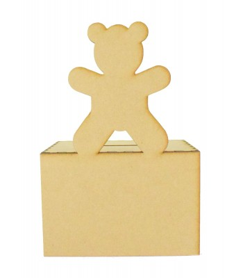 Laser Cut Teddy Money Box