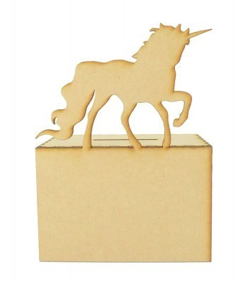 Laser Cut Unicorn Money Box