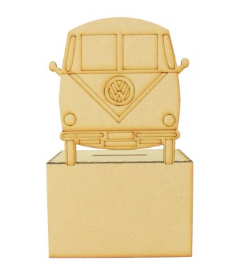 Laser Cut VW Camper Money Box