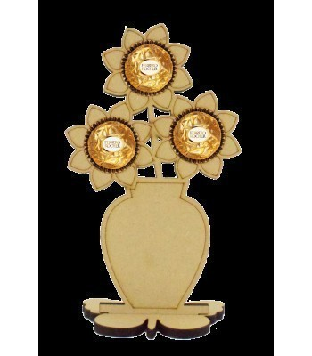 6mm Flower Pot Ferrero Rocher Holder on a Butterfly Stand
