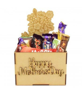 Laser Cut Mothers Day Hamper Treat Boxes - Gardening