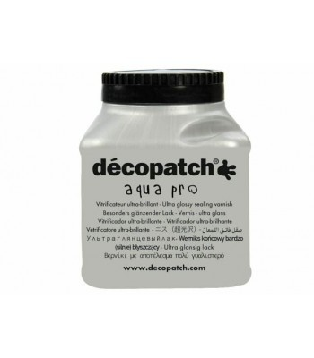 Decopatch Ultra Brilliant Gloss Aquapro Professional Varnish 180ml