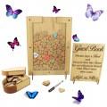 Oak Veneer Drop Boxes