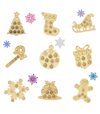 Christmas Coin Holders Sample Pack for Crafters - AS PHOTO - STANDARD PRODUCTS