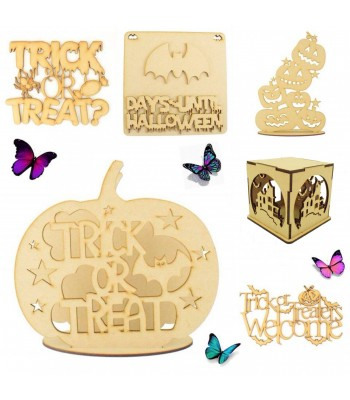 Halloween Sample Pack for Crafters - Pack of 6 Halloween Products
