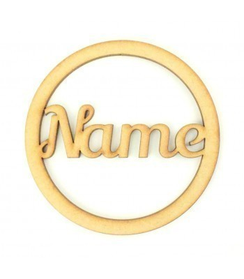 Laser Cut Personalised Place Setting - Coaster - BULK BUY PACK OF 90