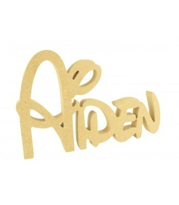 Freestanding MDF Personalised Joined Name (Walt - 150)