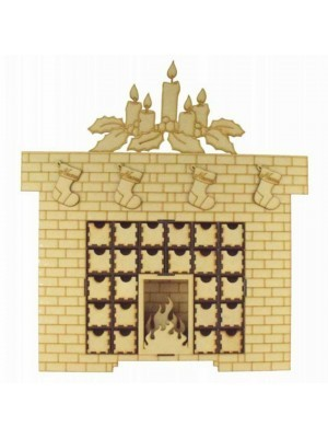 Large Fireplace Advent Calendar Assembly Instructions