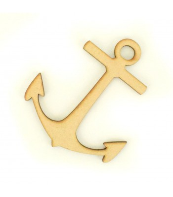 Laser Cut Anchor Shape