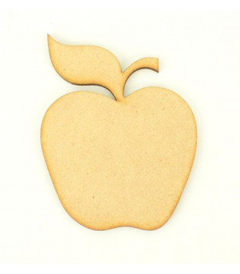 Laser Cut Plain Apple Shape