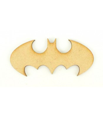 Laser Cut Plain Bat Shape