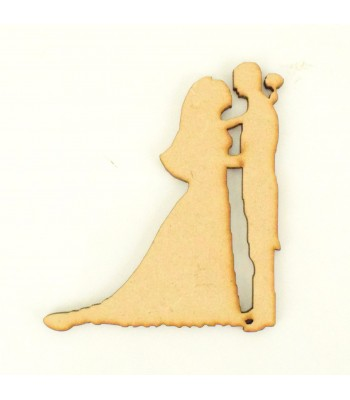 Laser Cut Wedding Couple - First Dance Shape