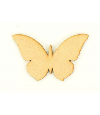 Laser Cut Butterfly Shape