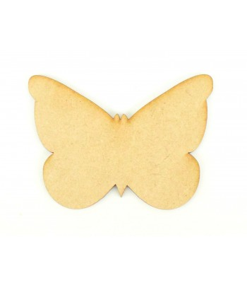 Laser Cut Plain Butterfly Shape