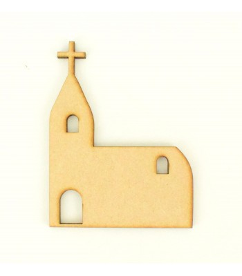 Laser Cut Plain Church Shape