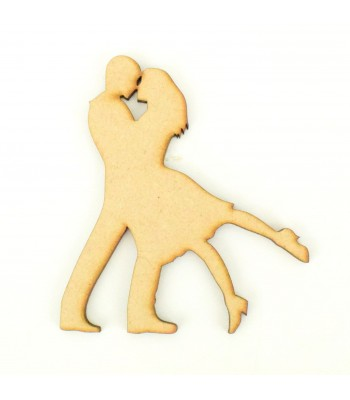 Laser Cut Couple Dancing Shape