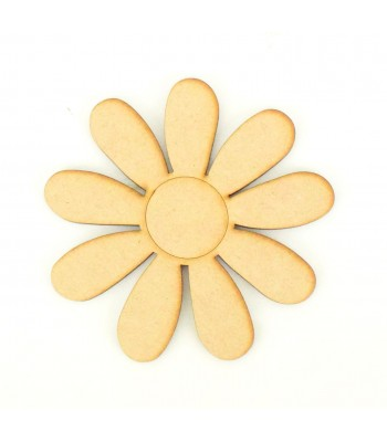 Laser Cut Daisy Flower Shape