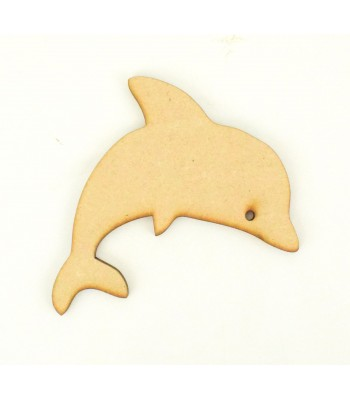 Laser Cut Cute Dolphin Shape
