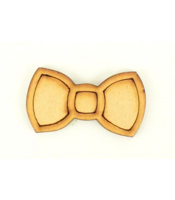 Laser Cut 3D Rabbit Bow - Pack of 4