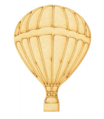 Laser Cut Hot Air Balloon Shape